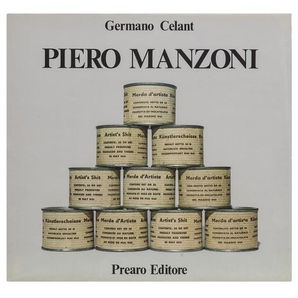 Germano Celant, PIERO MANZONI, ed. Prearo 1973
