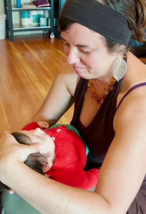 cranial sacral treatment for infants