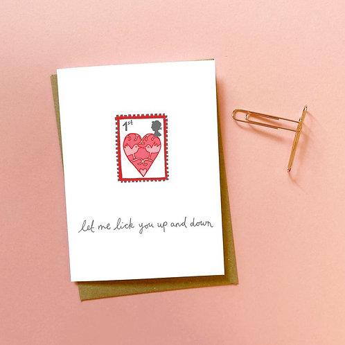 'stamp' card