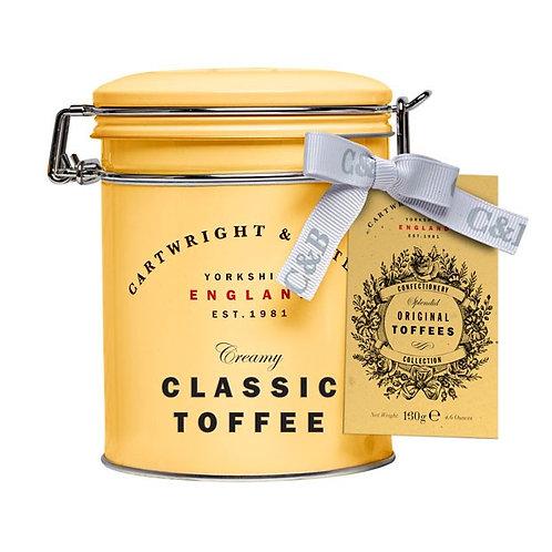 classic toffee tin