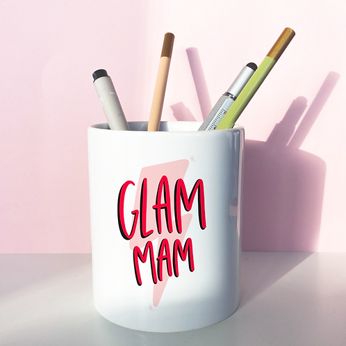 glam mam pen pot