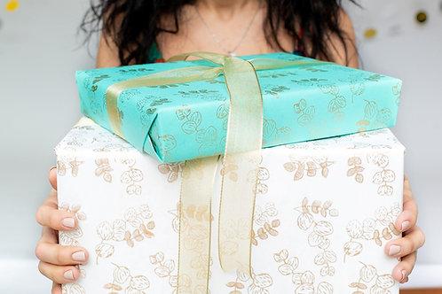 'eucalyptus' gift wrap