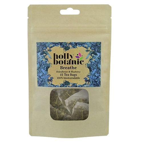 elderflower & blueberry tea bags