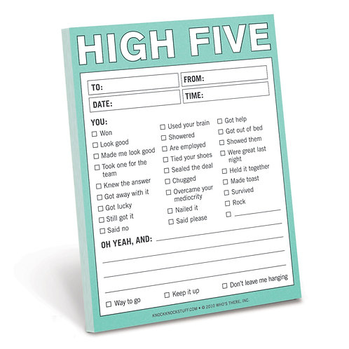 high five notes