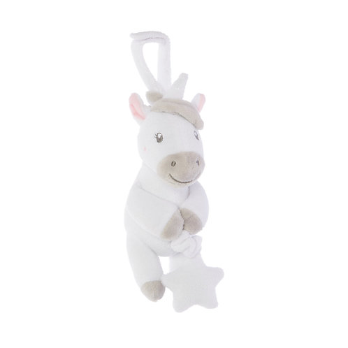 unicorn pull down baby toy