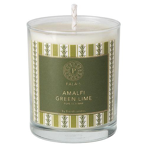 amalfi green lime candle