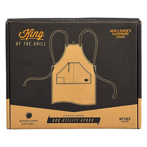 gentlemen's hardware barbecue apron