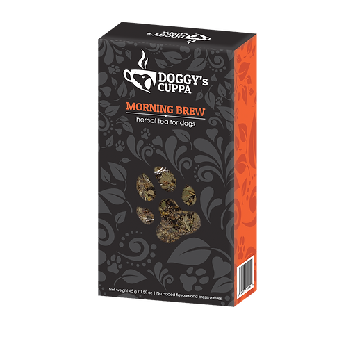 morning brew herbal tea for dogs