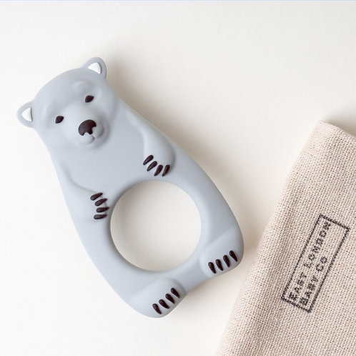 grey bear baby teether