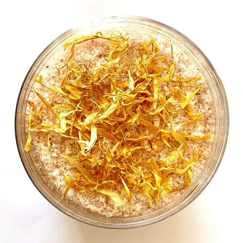 himalayan pink bath salts with mandarin & sweet orange