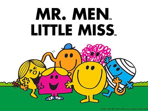 mr men & little miss book