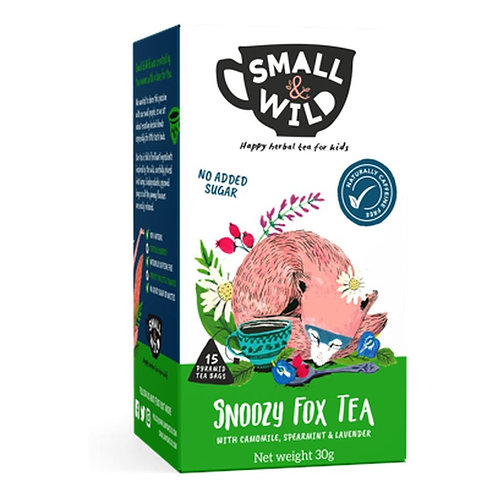 snoozy fox tea for kids