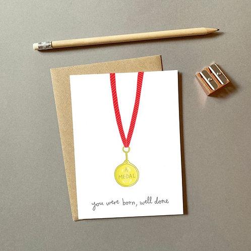 'medal' card