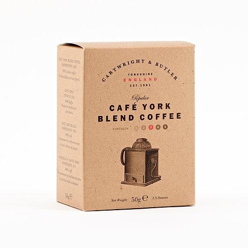 café york blend coffee caddy