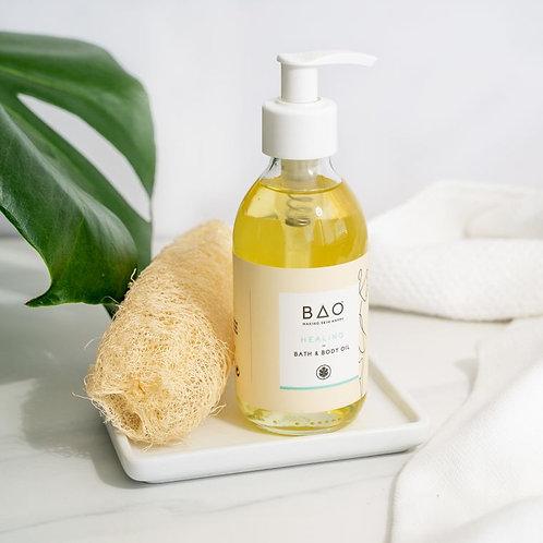 healing bath & body oil