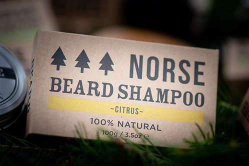 citrus beard shampoo