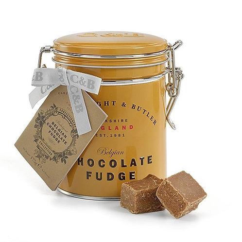 belgian chocolate fudge