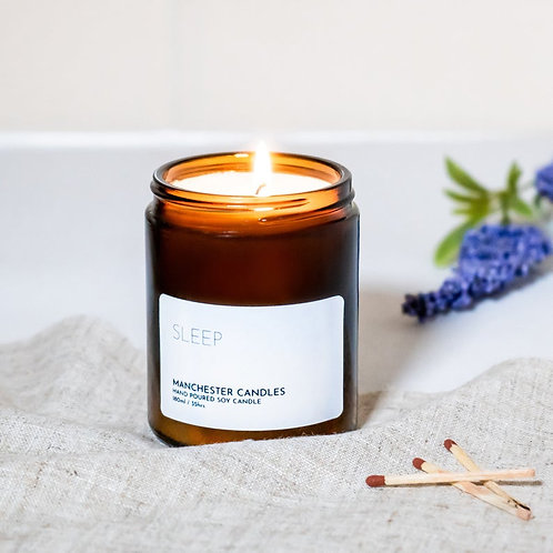calming lavender natural soy candle 120ml