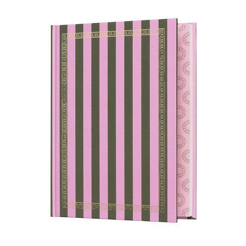 jackie pink notebook
