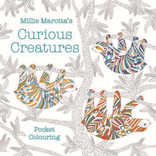 millie marotta's curious creatures colouring book