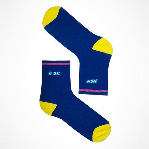 u ok hun? socks