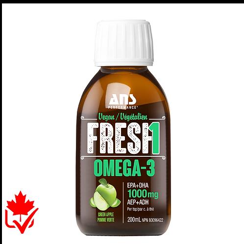 ANS Fresh1 Vegan Omega 3 200 ml Strawberry Orange