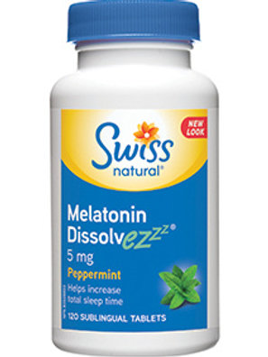 Swiss Melatonin Dissolvezzz 5 mg