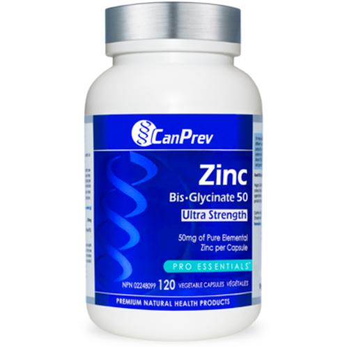 CanPrev Zinc Bis-Glyinate 50