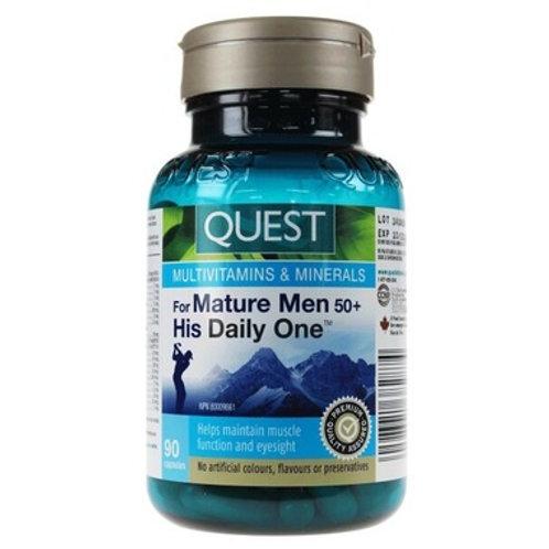 Quest Multivitamin for Men 50+