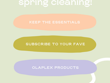Spring Clean Your Hair Routine