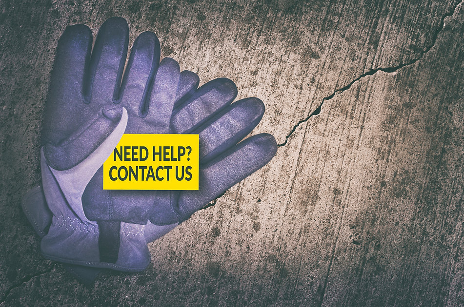 Need help_ Contact us card in protective