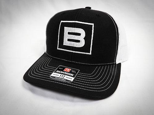 BWRIGHTS BLACKED TRUCKER HAT