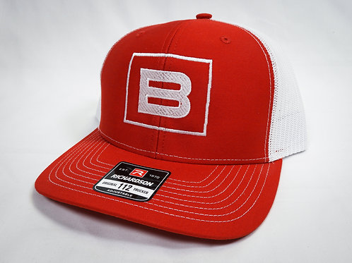 BWRIGHTS SQUARED TRUCKER HAT