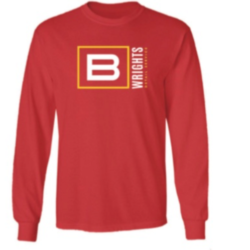 RED YELLOW SQUARED LONG SLEEVE