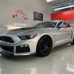 This Stunning P51 Roush Mustang came in