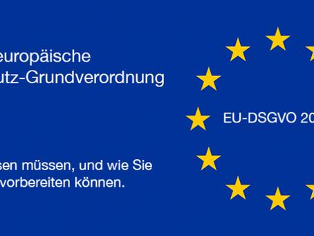 EU-DSGVO, die neue Datenschutz-Grundverordnung ist da!  So sind Sie optimal vorbereiten.
