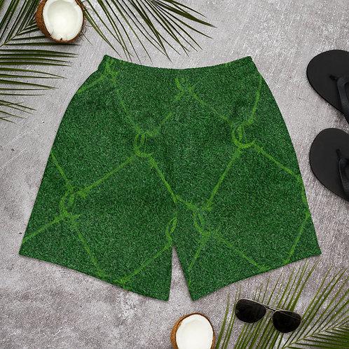 Grass Chaleur Print Shorts
