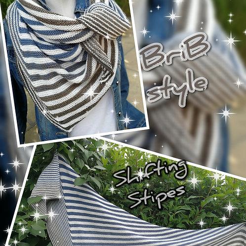 Tuch Shifting Stripes