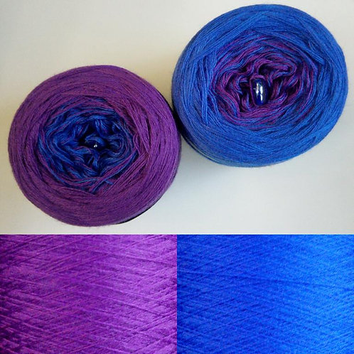 Blau - Lila