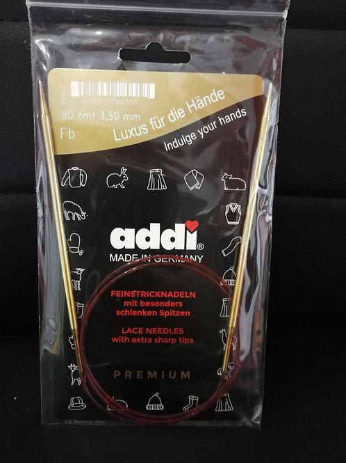 ADDI Rundstricknadel 3,5mm  80cm