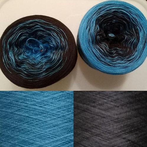 blau - braun