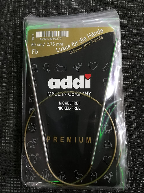 ADDI Rundstricknadel 2,75mm  60cm