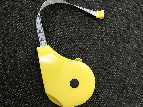 Maßband zum Ausziehen gelb 150 cm