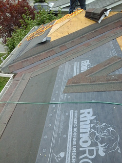 prep synthetic underlayment