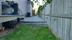 26 selkirk interlock backyard view