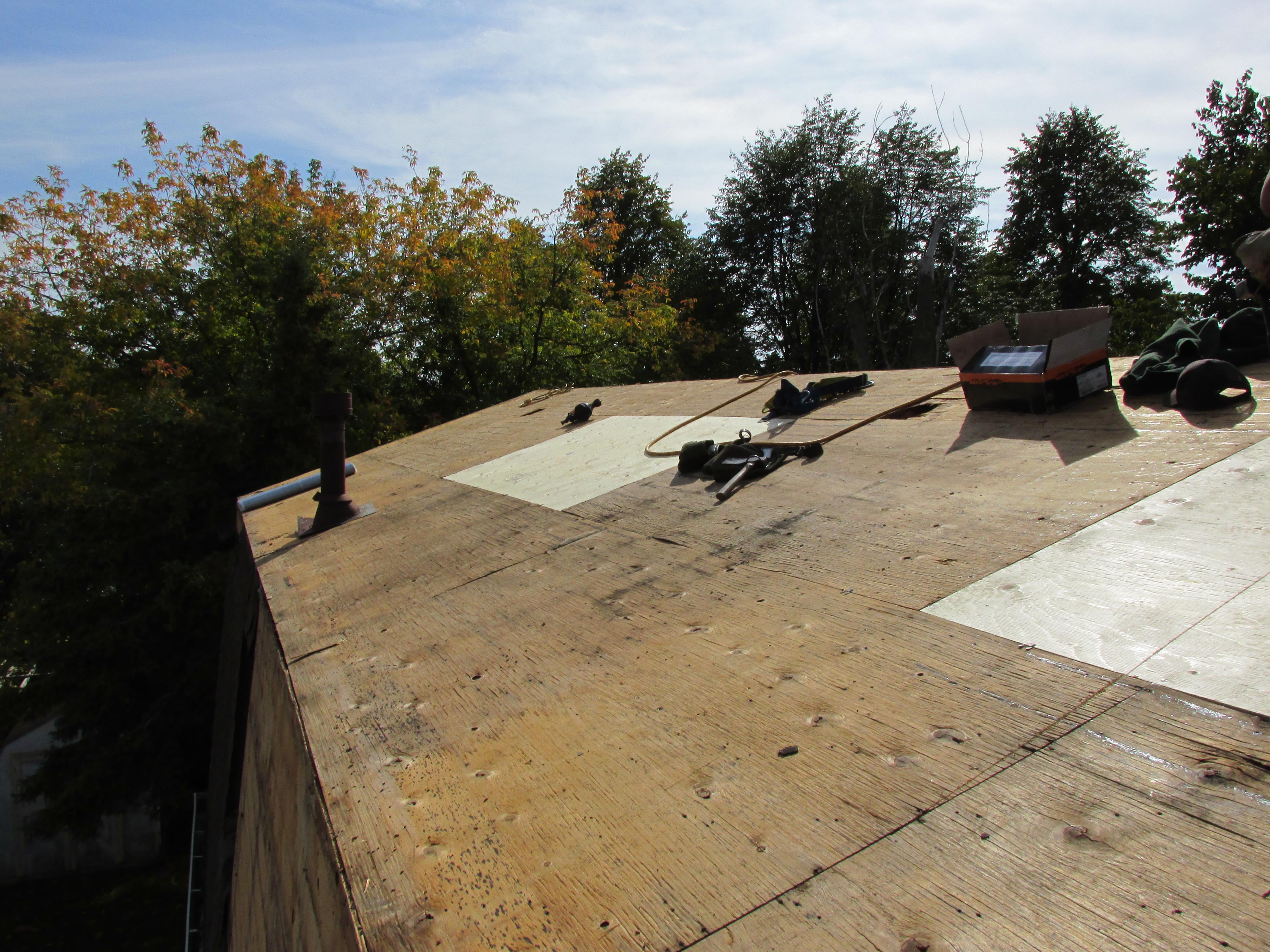 resheeting roof durham