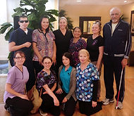 hospital oncology massage thrapy class field trip