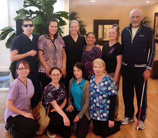 volunteer oncology hospital massage therapy