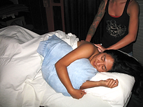 relaxing prenatal massage therapy