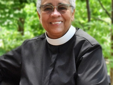 Bulletin for the Ordination of the Rev. Shug Goodlow in-person and online, Saturday, July 24 at 4 pm